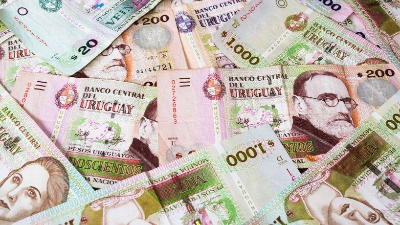 Uruguay currency information and images of the Uruguayan peso