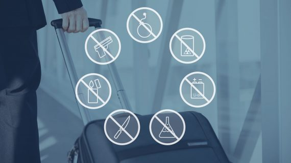 Prohibited or dangerous objects when flying with Air Berlin