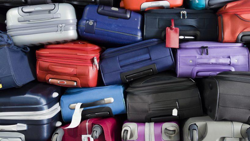 Checked baggage at Air Berlin