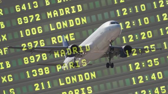 Trajets au départ de Valence avec Ryanair