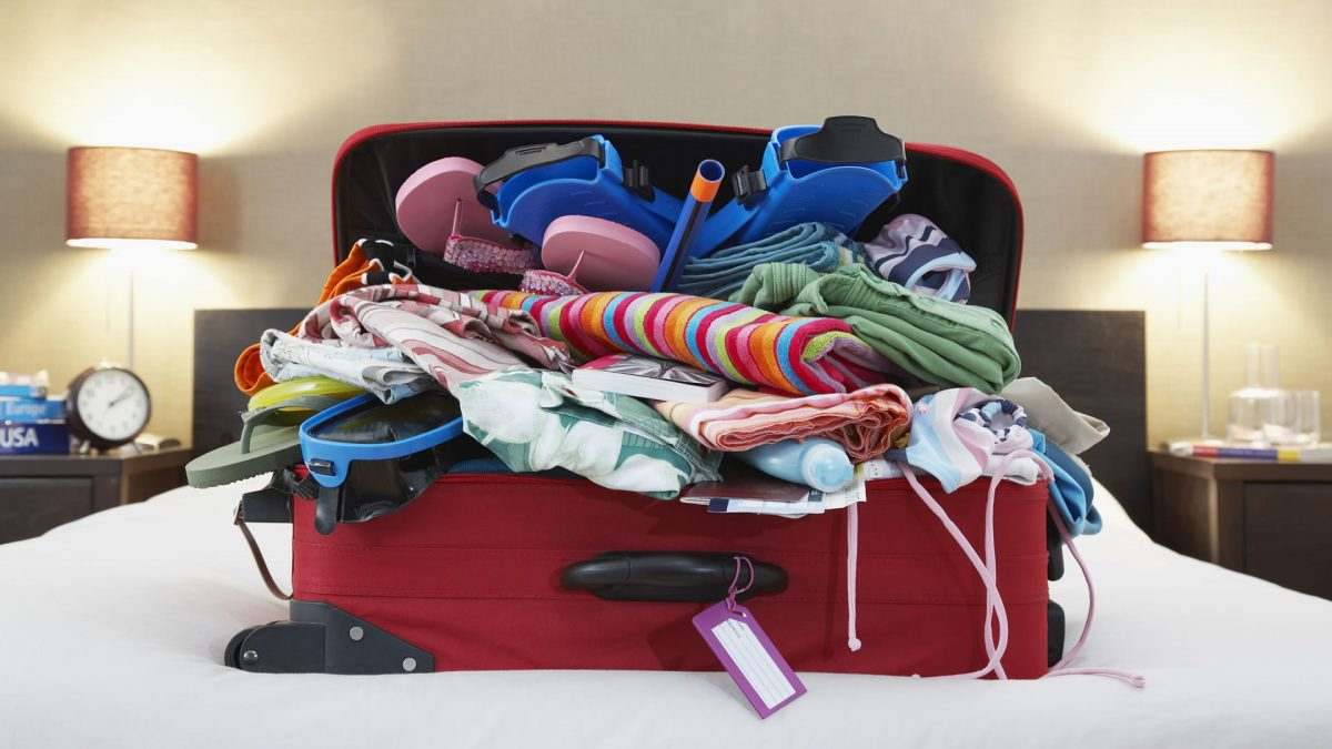 Checked baggage allowed by companies