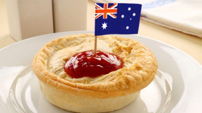 Australian mincemeat pie
