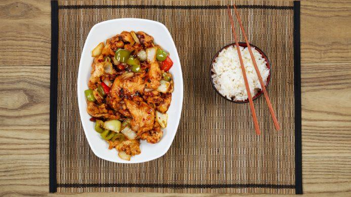 Common ingredients in Asian cuisine