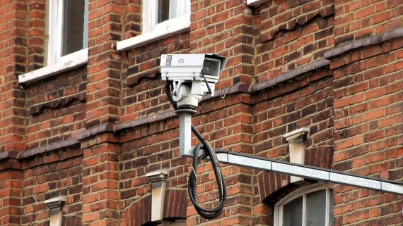 Closed circuit television (CCTV) cameras in London as terrorism prevention
