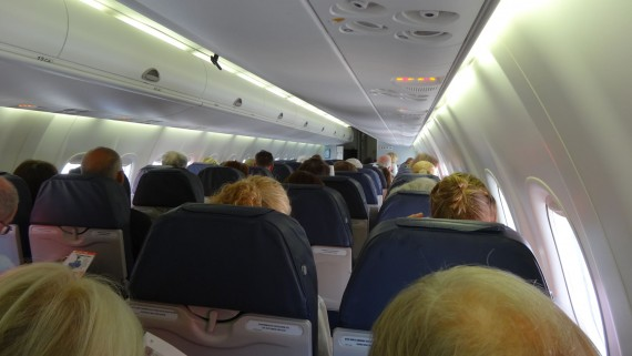 Air Berlin interior aircraft