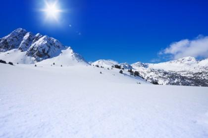 Ski slopes in Aragon