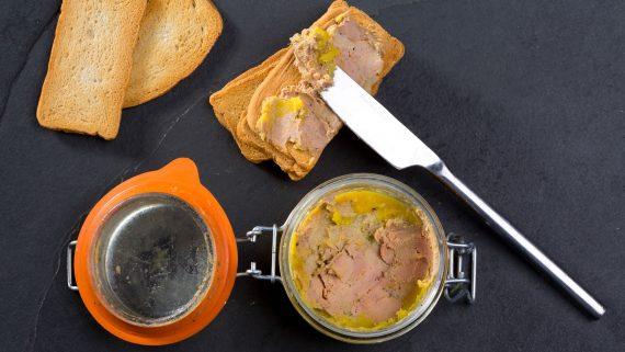 Foie gras history