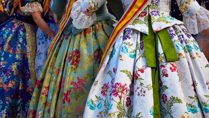 The typical costumes of Spain by autonomous communities