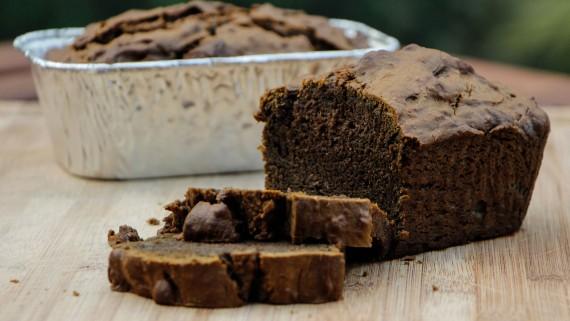 Black Sapodilla Cake