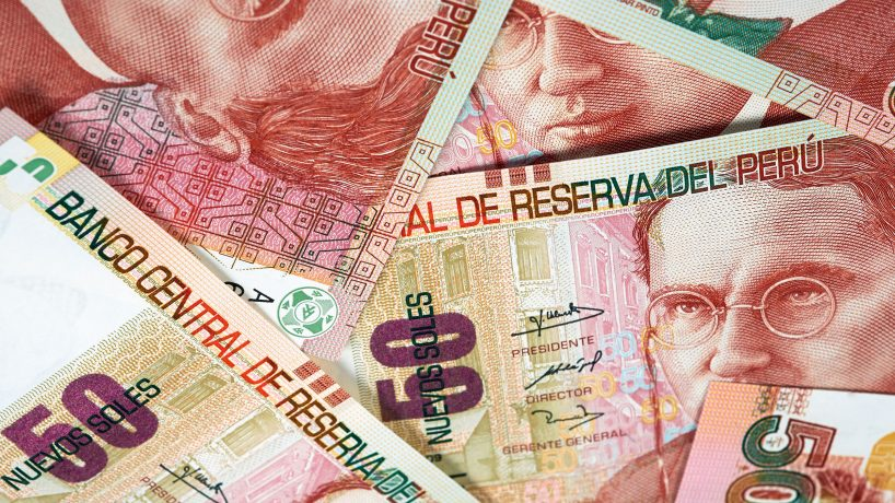 The Peruvian sun history and value of the currency of