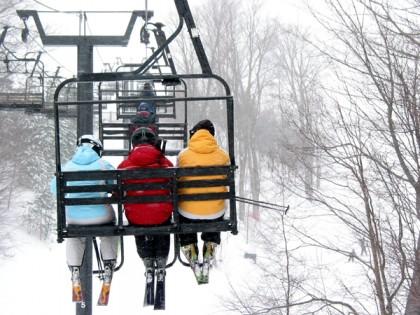 Skiing in cerler
