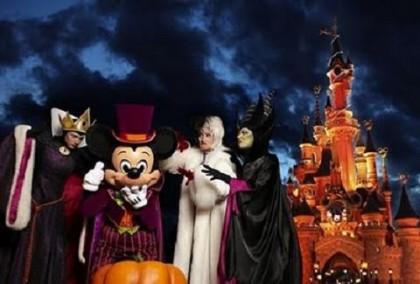 parcs à thème sur halloween
