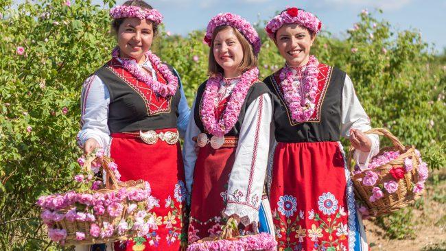 Fête des roses en Bulgarie