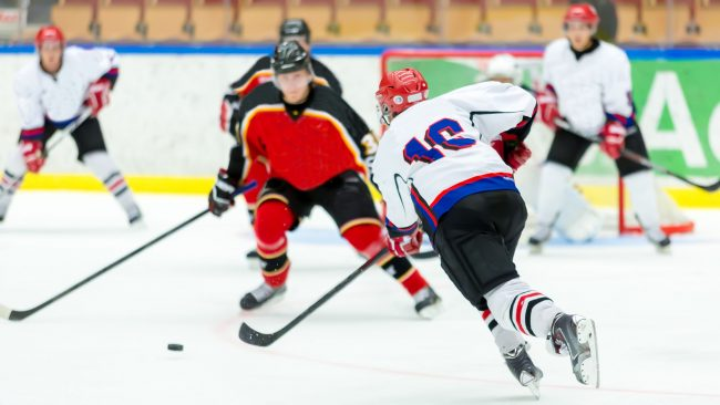 Ice hockey: national sport of Canada