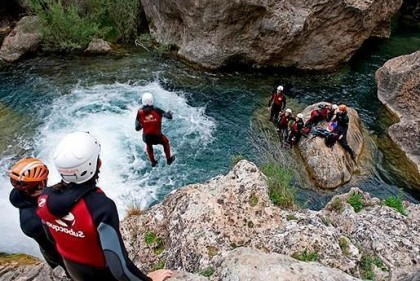 Canyoning by Cuenca