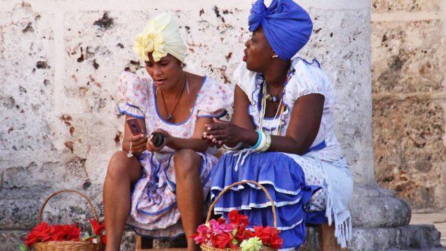 Women's dress in Havana, Cuba