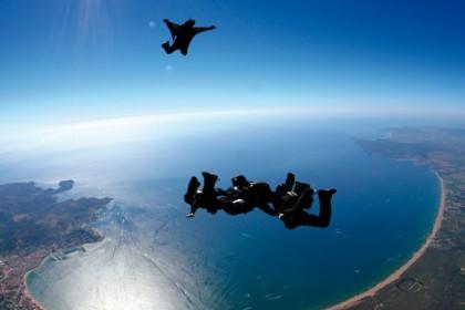 Skydiving by Empuriabrava