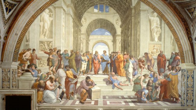 The School of Athens, Rafael