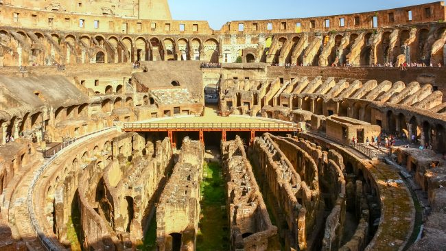 The Colosseum, icon of Rome