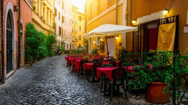 Trastevere neighborhood, Rome