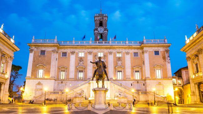 Campidoglio Square, Rome