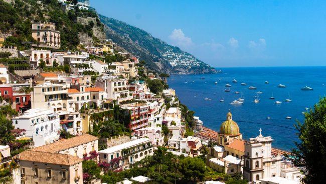Naples, city of the Italian coast