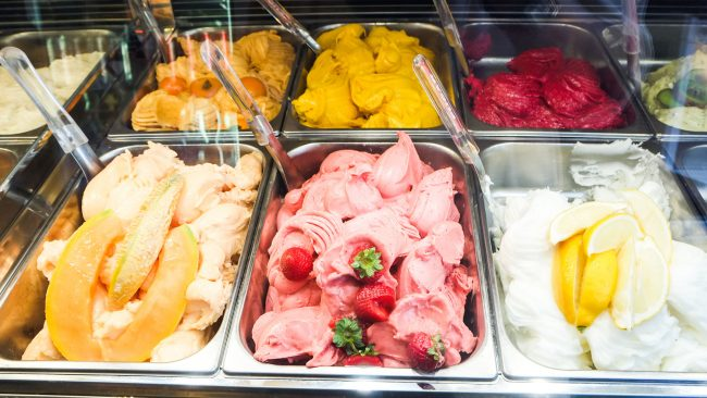 """The """"gelato"""" to fight the summer heat in Rome"""