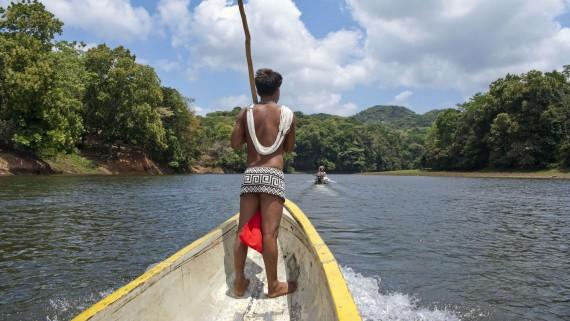 Tribu Emberá (Colombie)
