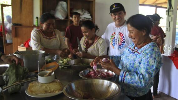 Communauté kichwa du parc national de Yasuni (Équateur)