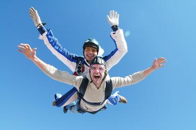 Skydiving in Madrid
