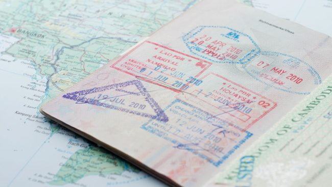 The visa: requirement to enter Cuba