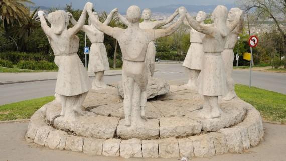 La Sardana, Josep Cañas, Montjuïc, Barcelona (1965)