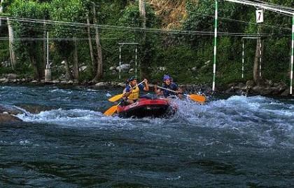 rafting in Madrid