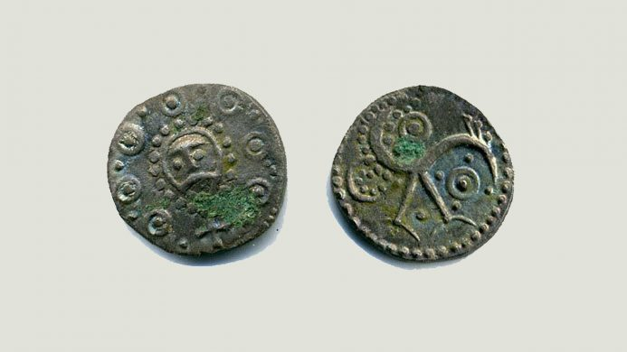 Sceattas: origin of the pound sterling