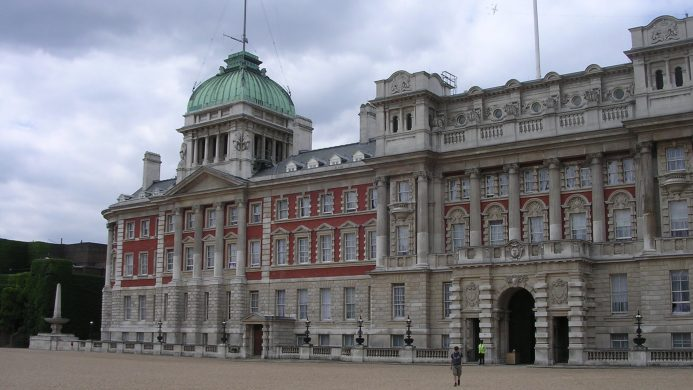 Whitehall Palace located in London