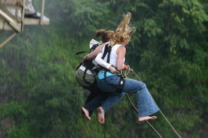 bungee jumping Madrid