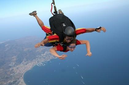 Parachutisme à Barcelone