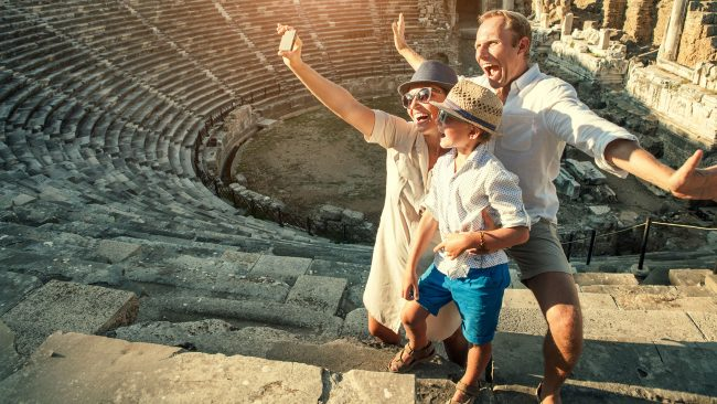 Visit Italy as a family