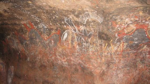 Peintures rupestres groupes tribaux Australie