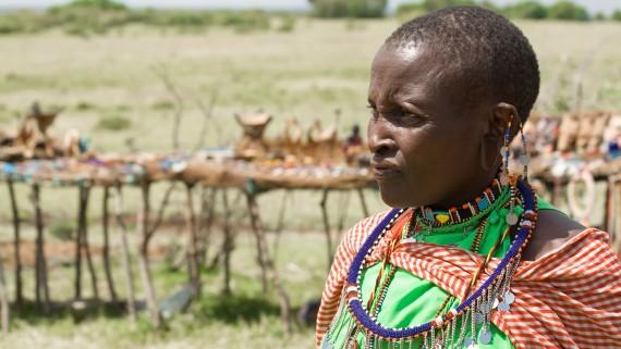 Masai femme