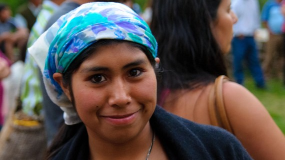 Village mapuche de Curarrehue (Chili)