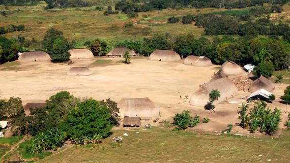 Tribu Kamayura à Matto Grosso (Brésil)