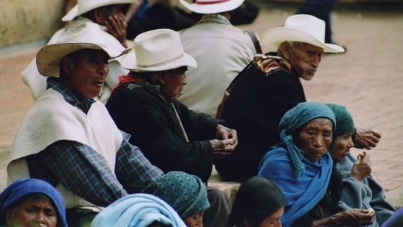 Chiapas, groupe indigène du Mexique