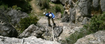 Canyoning in Madrid