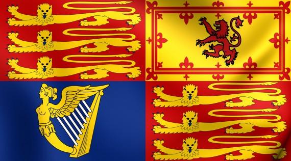 Quartered shield representing the Constitutive States