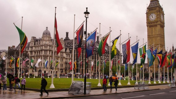 London on the Queen's Diamond Jubilee Day