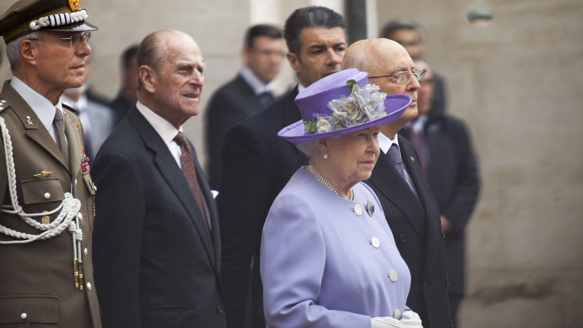 Queen Elizabeth II of England and the British royal family