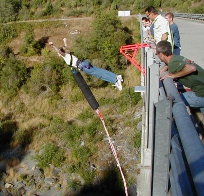 Bungee Jumping in Barcelona