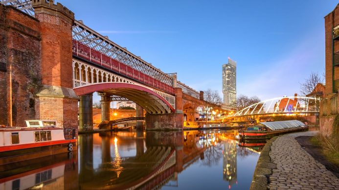 Views of the Beetham Tower (Manchester)