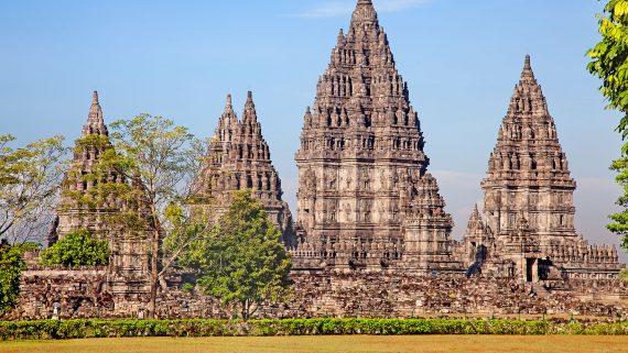 Prambanan set, Yogyakarta, Indonesia